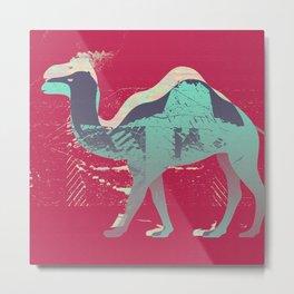 Camel Color Study Metal Print