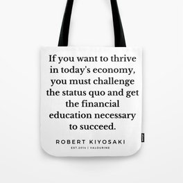 45  |  Robert Kiyosaki Quotes | 190824 Tote Bag