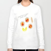 poetry Long Sleeve T-shirts featuring porch poetry by The Tiny Fishbowl Collection