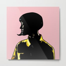 Katy Portrait Art - Inspired by Music Video - This Is How We Do  Metal Print