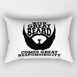 GREAT BEARD GREAT RESPONSIBILITY Rectangular Pillow