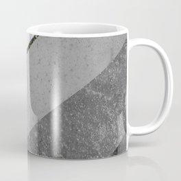 Marble Gray Copper Black Gold Chevron Coffee Mug