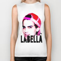 toilet Biker Tanks featuring TOILET CLUB #labella by Toilet Club