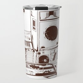 I love 80's Travel Mug