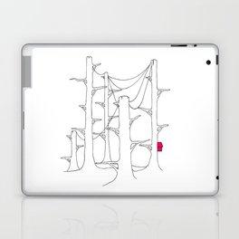 Telegraph pole forest. Laptop & iPad Skin
