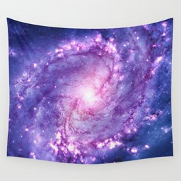 Cosmic vacuum cleaner (Spiral Galaxy M83) Wall Tapestry