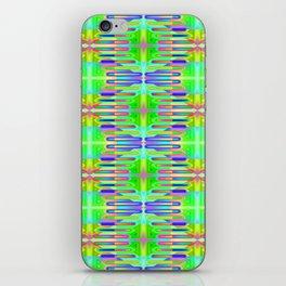 Radient-sticks-pattern #1 iPhone Skin