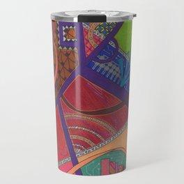 Abstraction Travel Mug