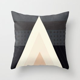 Conical Tent Throw Pillow
