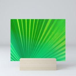 Palm Tree Leaf Mini Art Print