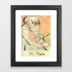 Hyde Framed Art Print