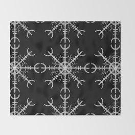Aegishjalmur II Throw Blanket
