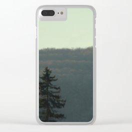 Evergreen Dream Clear iPhone Case