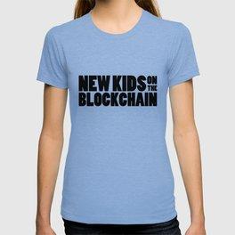 New Kids On The Blockchain T-shirt