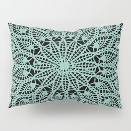 Delicate Teal Pillow Sham