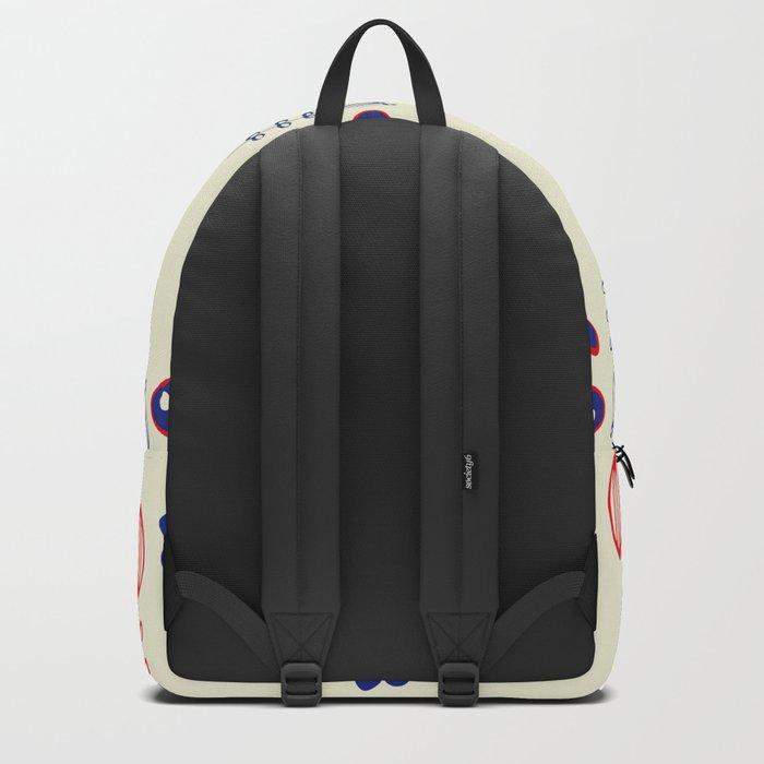 folk floral Backpack