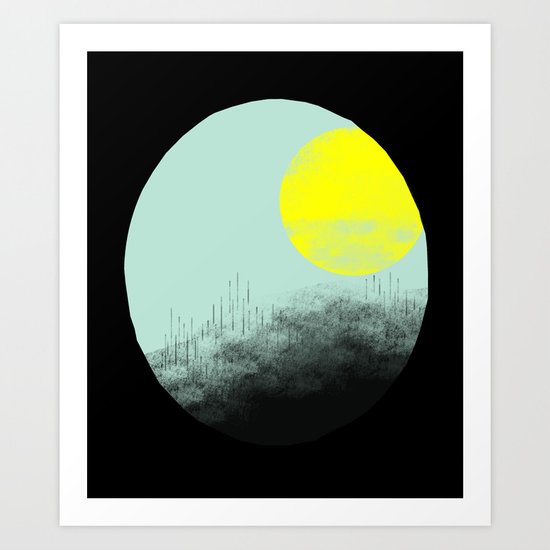 Nights Art Print