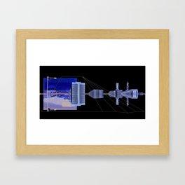 coverage Framed Art Print