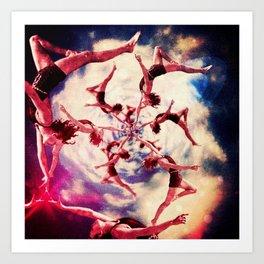 Twisted Dreams Art Print