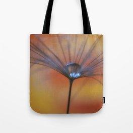 Warm Water A Dandelion Seed Parachute Tote Bag