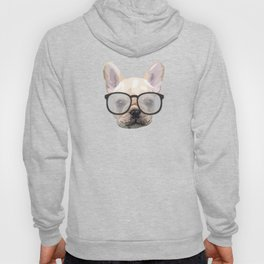 Dog with glasses Hoody