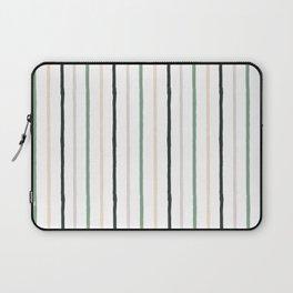Blush tones abstract modern geometrical  pattern Laptop Sleeve
