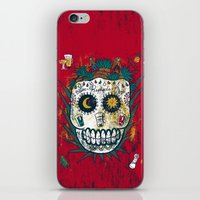 tequila iPhone & iPod Skins featuring Tequila by Jorge Garza