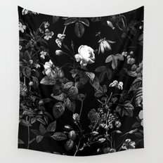 DARK FLOWER Wall Tapestry