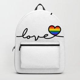 LGBT Love Backpack