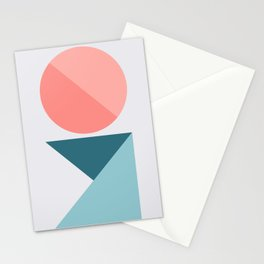 Geometric Form No.1 Stationery Cards