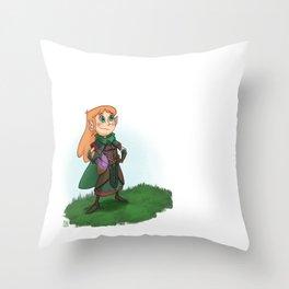 Nature Healer Throw Pillow