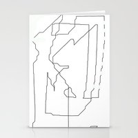 maps Stationery Cards featuring Maps  by short stories gallery