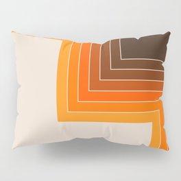 Cornered Golden Pillow Sham