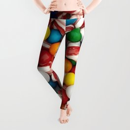 Peppermints and Gumballs Leggings