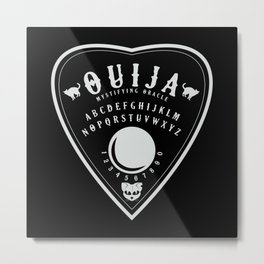 OUIJA PLANCHETTE Metal Print