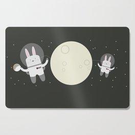 Astro Bunnies Cutting Board