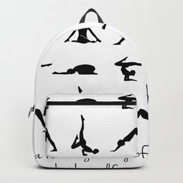 YOGA QUOTES Backpack