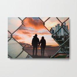 Free Love by GEN Z Metal Print