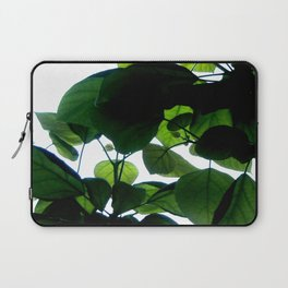 Greenery Abstract Laptop Sleeve