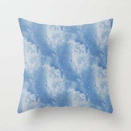Rainy Dayz... Throw Pillow