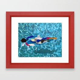 Max I Framed Art Print