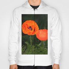Oriental poppies Hoody