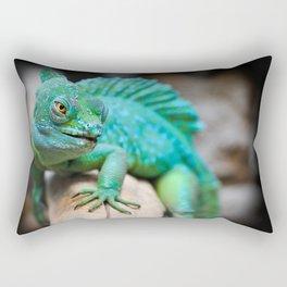 Gecko Reptile Photography Rectangular Pillow