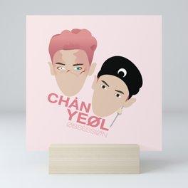 Chanyeol - OBSESSION (E X O) Mini Art Print