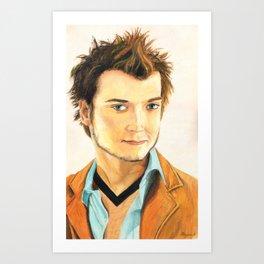 Elijah Wood Oil Portrait Art Print