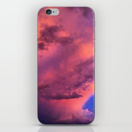 Cloud cocktail iPhone Skin