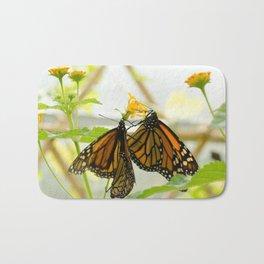 Butterflies 3 Bath Mat