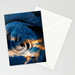 Phoenix Fury Rose Stationery Cards