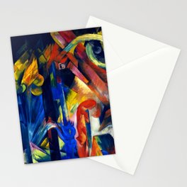 """Franz Marc """"Forest with squirrel"""" Stationery Cards"""