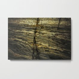 stone texture as background Metal Print